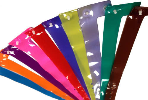 Vinyl Wristbands Translucent Colors 500