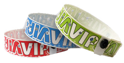 Plastic Wristbands VIP 500
