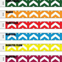 3/4 Tyvek Wristband Design Arrows Up 500