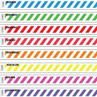 3/4 Tyvek Wristband Design Stripes 500