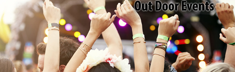 Wristbands For Out Door Events