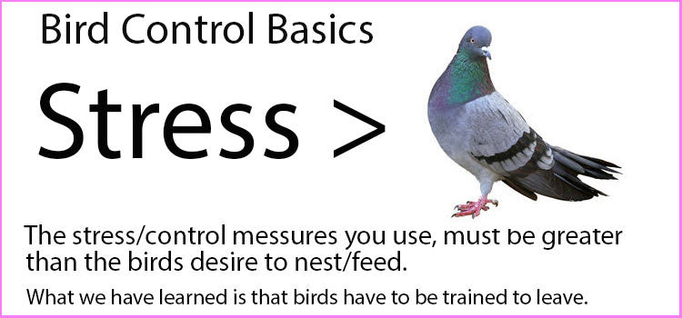 Think of Controlling Birds as a Control Service vs. One Time Event to Increase Succes