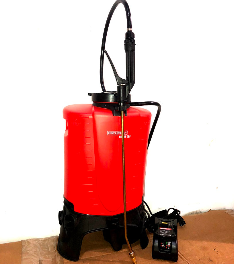 Battery Powered Backpack Sprayer 5 Gallon - BIRD CONTROL - FLOCK FREE