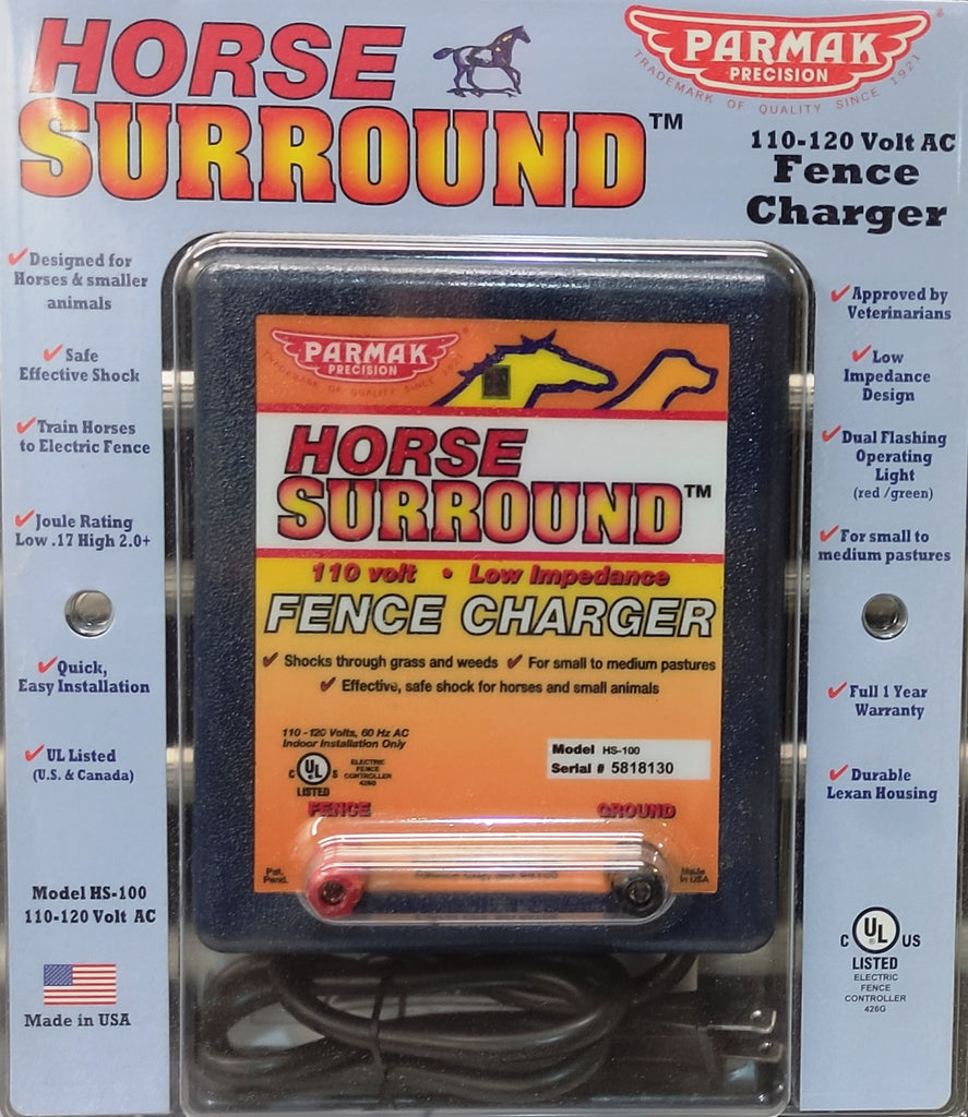 110V Charger for Shock Tape and Hot Wire
