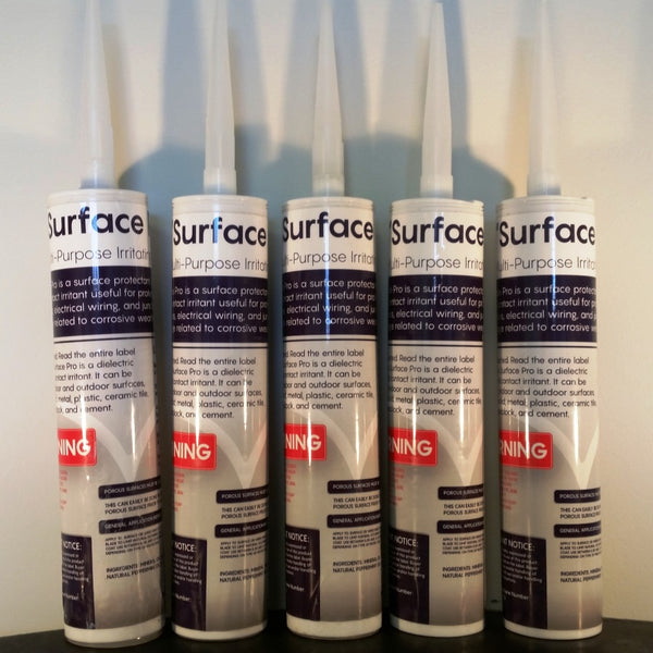 Surface Pro Surface Protectant - Case of 12 10oz Tubes - BIRD CONTROL - FLOCK FREE