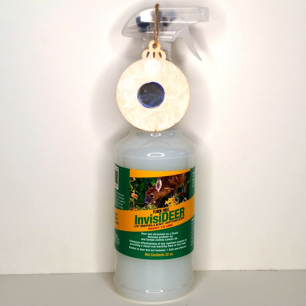 InvisiDEER – UV deer control improver, helps you keep deer away, 32oz, Ready-To-Use Spray
