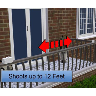 Balcony Water Blaster for Bird Control - BIRD CONTROL - FLOCK FREE