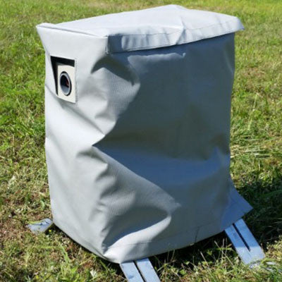 Moby Silver Hazer Cover - BIRD CONTROL - FLOCK FREE