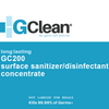 GClean Surface Sanitizer / Disinfectant, 1-gallon Concentrate - BIRD CONTROL - FLOCK FREE