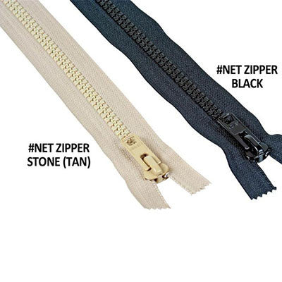 Bird Netting Zipper Stone HD - 8 Feet long - BIRD CONTROL - FLOCK FREE