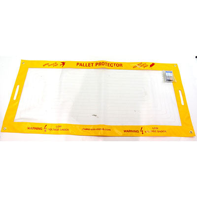 The Pallet Protector Vinyl Mat Case of 16 - BIRD CONTROL - FLOCK FREE