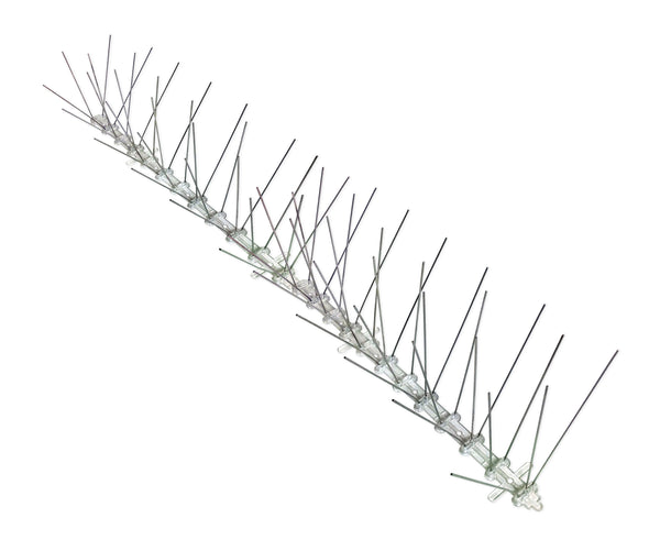 "Bird Control Spikes Stainless Steel 3"" Wide 100 Feet"