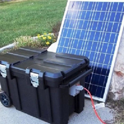 Hazer Solar Charger for Single Hazer - BIRD CONTROL - FLOCK FREE