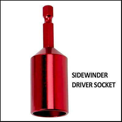 Bird Netting Sidewinder Driver Socket Pack of 2 - BIRD CONTROL - FLOCK FREE