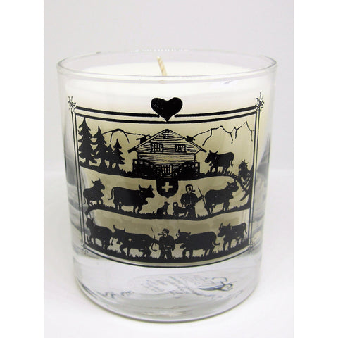 Handmade candle made in Geneva - Thèma - Passion Les Bougies - Christmas Gifts - Cadeaux Noel - The best Swiss online department store!