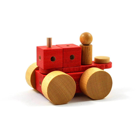 Lok - Wooden construction toy made in Switzerland - oi-blocks - Christmas Gifts - Cadeaux Noel - The best Swiss online department store!