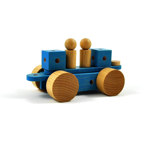 Pok - Wooden construction toy made in Switzerland - oi-blocks - Christmas Gifts - Cadeaux Noel - The best Swiss online department store!