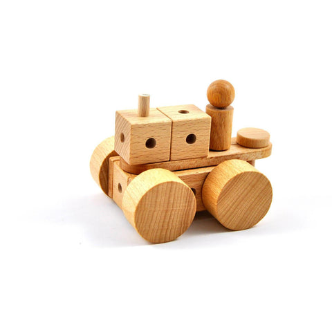 Lok nu - Wooden construction toy made in Switzerland - oi-blocks - Christmas Gifts - Cadeaux Noel - The best Swiss online department store!