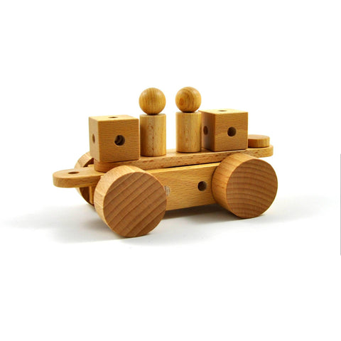 Pok nu - Wooden construction toy made in Switzerland - oi-blocks - Christmas Gifts - Cadeaux Noel - The best Swiss online department store!