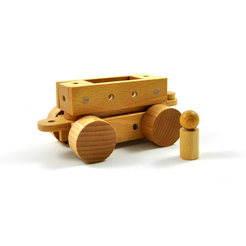Tok nu - Wooden construction toy made in Switzerland - oi-blocks - Christmas Gifts - Cadeaux Noel - The best Swiss online department store!