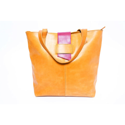 Sidamo Tote Bag Rustic Brown - Albaso - Christmas Gifts - Cadeaux Noel - The best Swiss online department store!