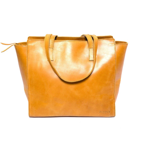 Harerge Tote Bag Rustic Brown - Albaso - Christmas Gifts - Cadeaux Noel - The best Swiss online department store!