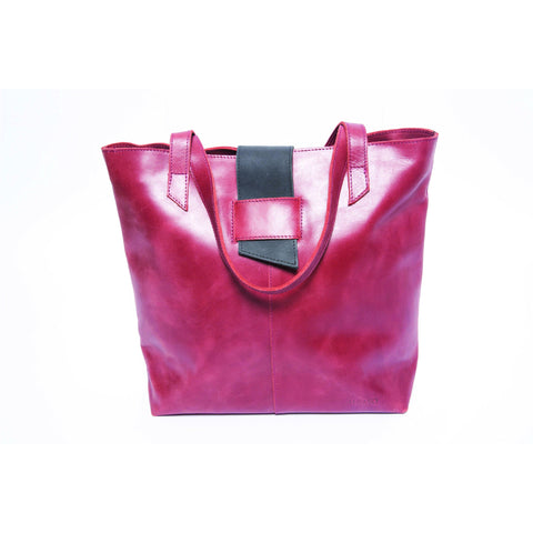 Sidamo Tote Bag Red - Albaso - Christmas Gifts - Cadeaux Noel - The best Swiss online department store!