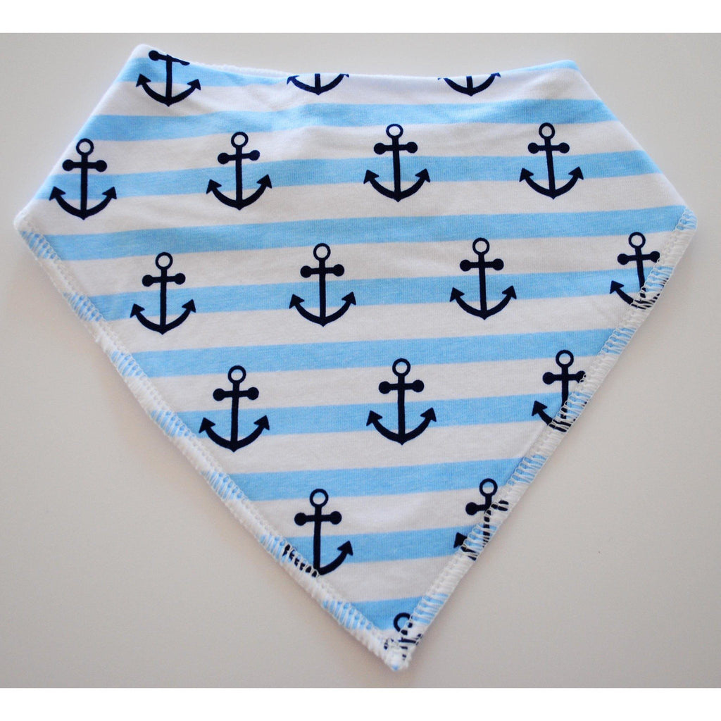 Latz mit Anker - Babyboy Bib - Anchor - Sweet Baby Gift - Christmas Gifts - Cadeaux Noel - The best Swiss online department store!