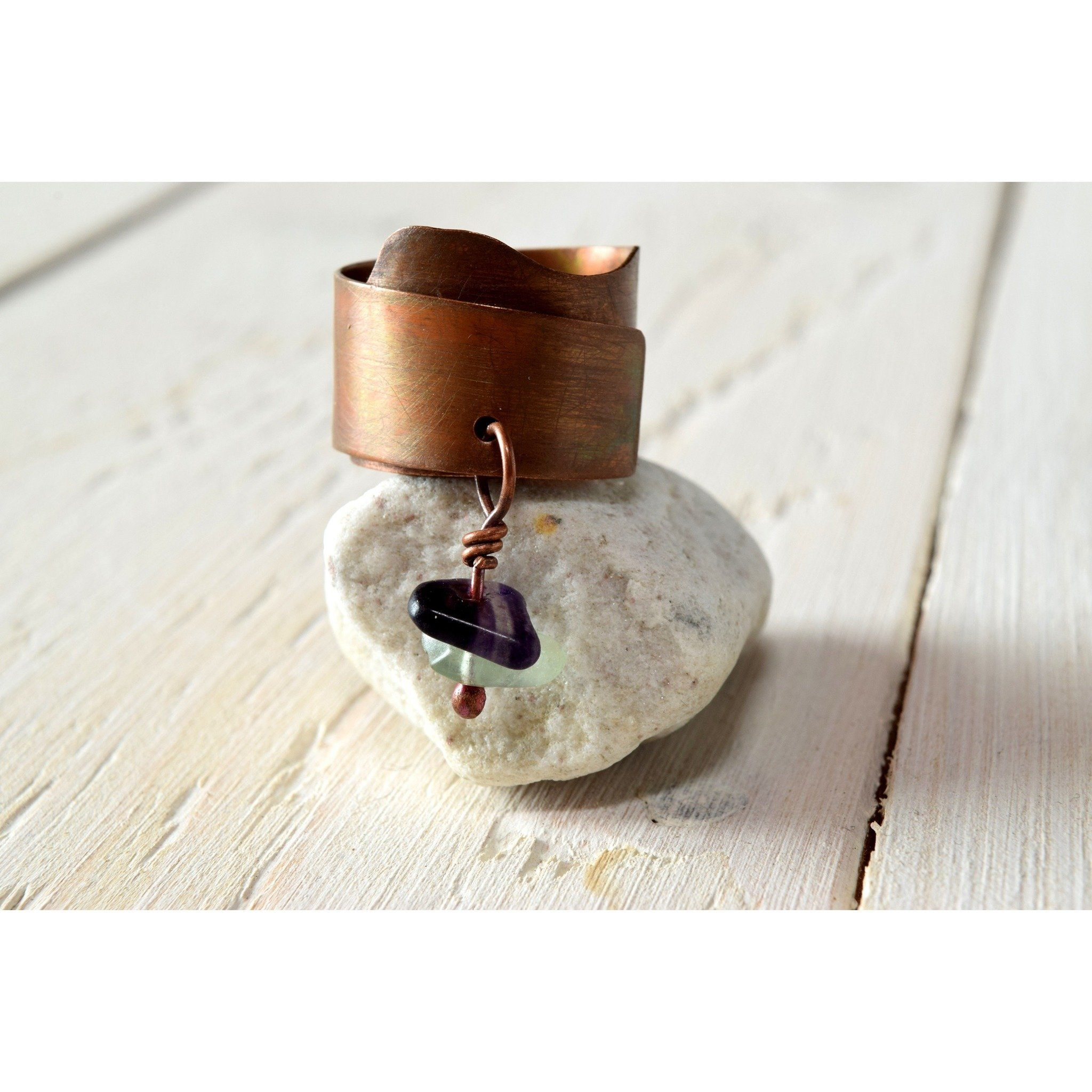piece stone natural yet reminiscent pin the fluorite raw true twinned rings english of slight present mighty age naturally this bronze small is