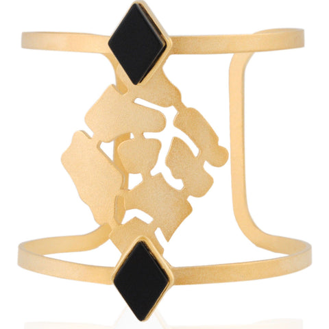 Cracked Concrete Cuff - Oriental Glamour - Christmas Gifts - Cadeaux Noel - The best Swiss online department store!