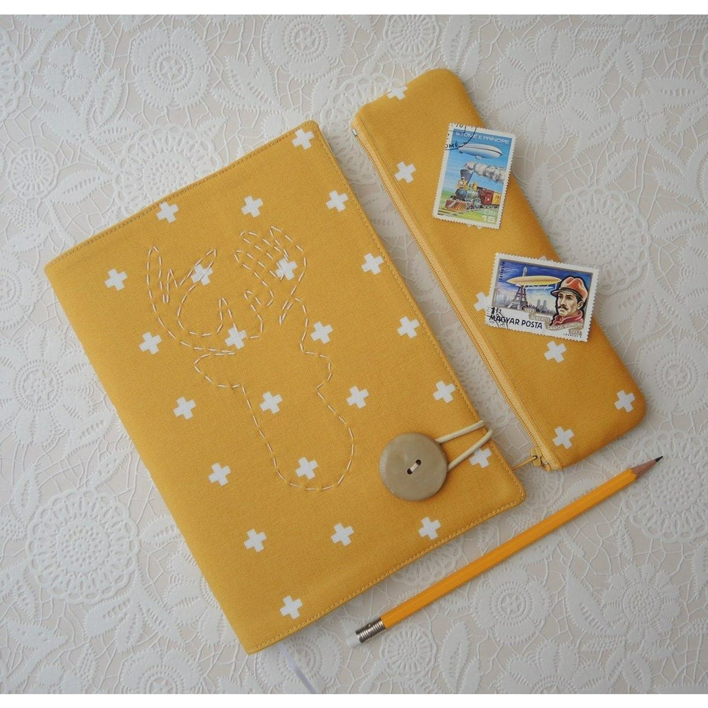 Dijon Mustard Notebook - Smitten Kitten - Christmas Gifts - Cadeaux Noel - The best Swiss online department store!