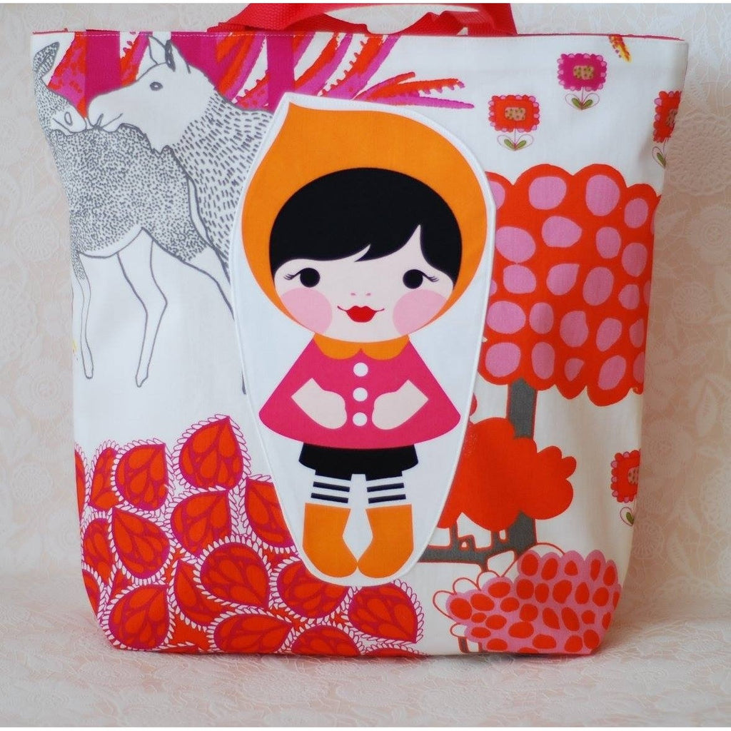 Orange Cap Kokeshi - Smitten Kitten - Christmas Gifts - Cadeaux Noel - The best Swiss online department store!