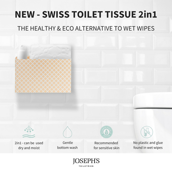 Skinfriendly Wet Wipes - JOSEPH'S Toiletries - Christmas Gifts - Cadeaux Noel - The best Swiss online department store!