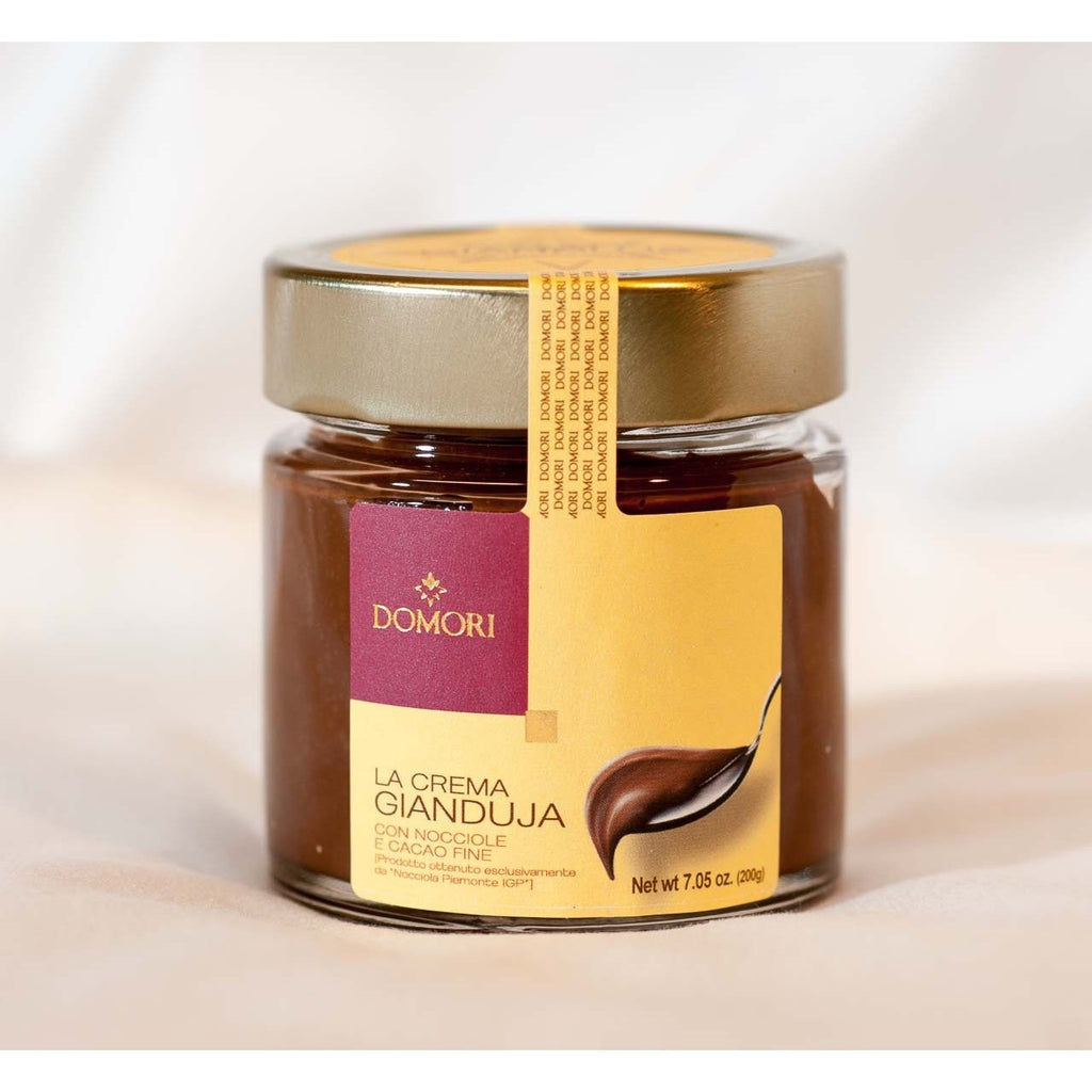 Domori palm-oil-free Gianduja Spread (with Hazelnuts and fine cocoa) (200g) - Delissano.ch - Christmas Gifts - Cadeaux Noel - The best Swiss online department store!