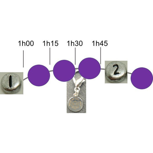 Bracelet d'Allaitement en Améthyste/ Breastfeeding Bracelet made with Amethyst - Un Je Ne Sais Quoi - Christmas Gifts - Cadeaux Noel - The best Swiss online department store!