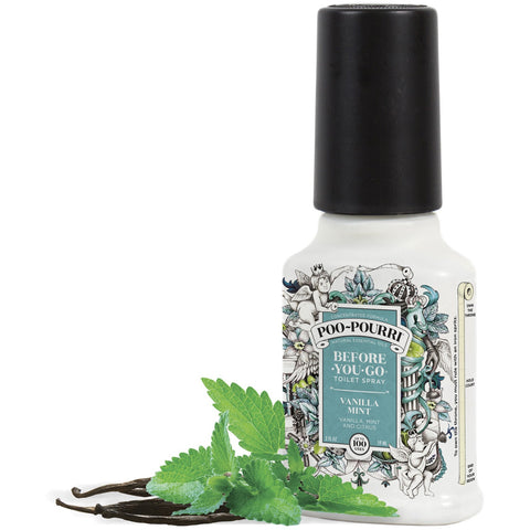 VANILLA MINT Before-You-Go Toilet Spray | Toilet Spray | Badezimmer | Spray per il bagno - Poo~Pourri Before-You-Go Toilet Spray - Christmas Gifts - Cadeaux Noel - The best Swiss online department store!