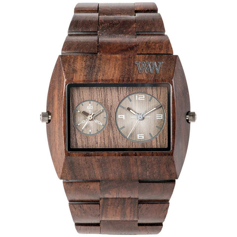 Wooden Watch WeWood - Jupiter Chocolate - WeWood Swiss - Christmas Gifts - Cadeaux Noel - The best Swiss online department store!