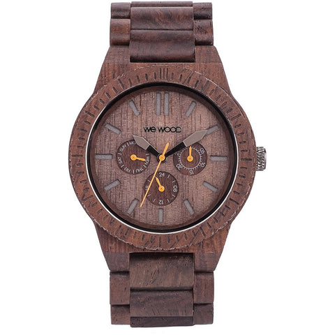 Wooden Watch WeWood - Kappa chocolate - WeWood Swiss - Christmas Gifts - Cadeaux Noel - The best Swiss online department store!