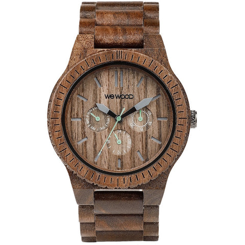 Wooden Watch WeWood - Kappa Nut - WeWood Swiss - Christmas Gifts - Cadeaux Noel - The best Swiss online department store!