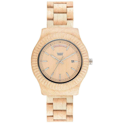 Wooden Watch WeWood - Thema beige - WeWood Swiss - Christmas Gifts - Cadeaux Noel - The best Swiss online department store!