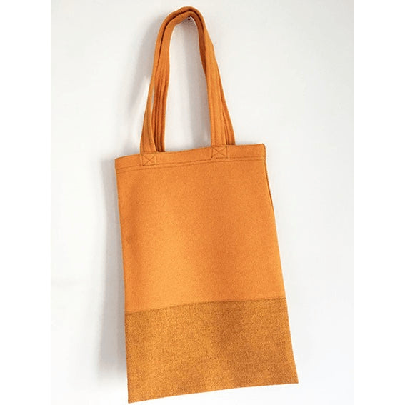 Orange Tote Bag - Sustainable Design - Chiinchiin - Free delivery - Gifts - The best Swiss online department store!