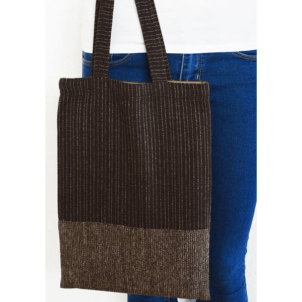 Brown Tote Bag ll - Sustainable Design - Chiinchiin - Christmas Gifts - Cadeaux Noel - The best Swiss online department store!