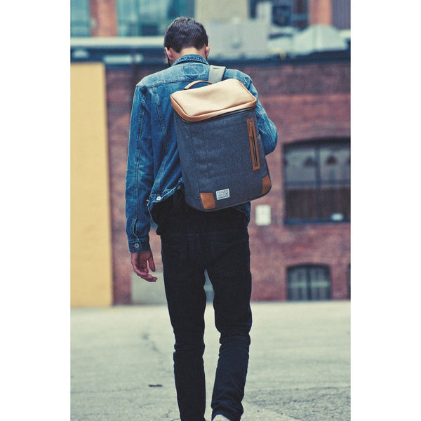 AMSTERDAM by Venque - Backpack Grey - La Belle Boutique - Free delivery - Gifts - The best Swiss online department store!