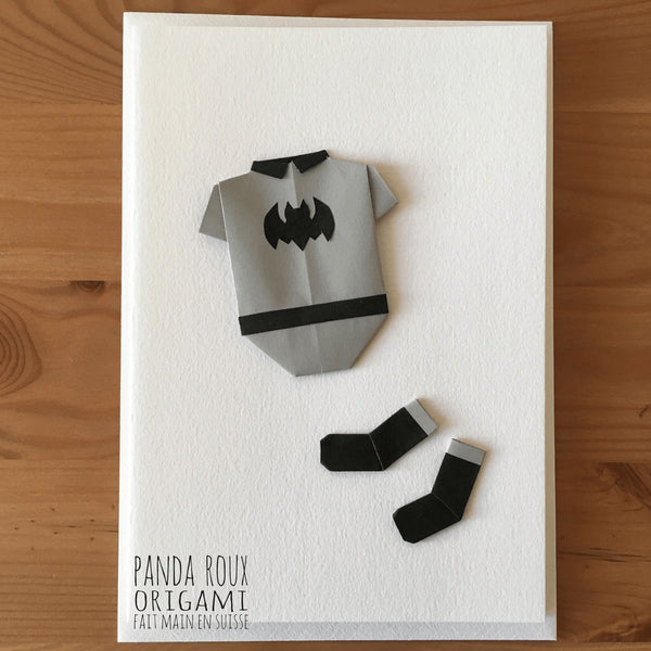 Card Hero - Carte Héros - Panda Roux Origami - Free delivery - Gifts - The best Swiss online department store!
