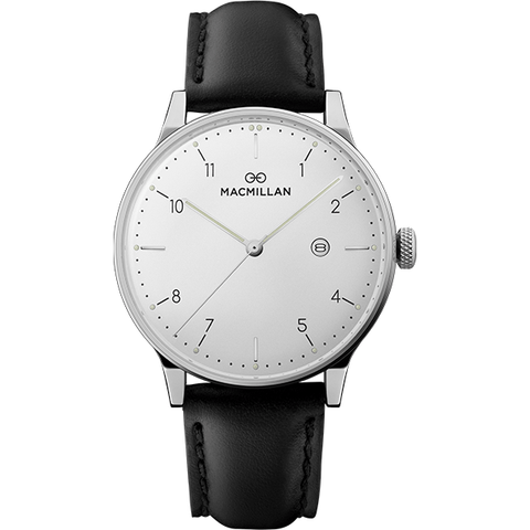 Macmillan watches - Keir Mill silver - Macmillan Watches - Christmas Gifts - Cadeaux Noel - The best Swiss online department store!