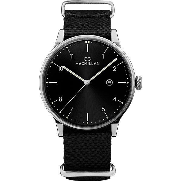 Macmillan watches - Kirkpatrick silver - Macmillan Watches - Christmas Gifts - Cadeaux Noel - The best Swiss online department store!