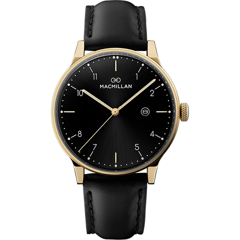 Macmillan watches - Kirkpatrick gold - Macmillan Watches - Christmas Gifts - Cadeaux Noel - The best Swiss online department store!