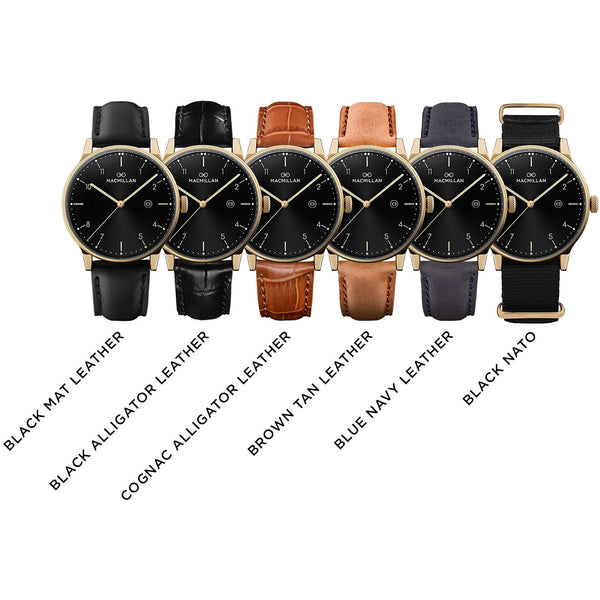 Macmillan watches - Kirkpatrick gold - Macmillan Watches - Free delivery - Gifts - The best Swiss online department store!