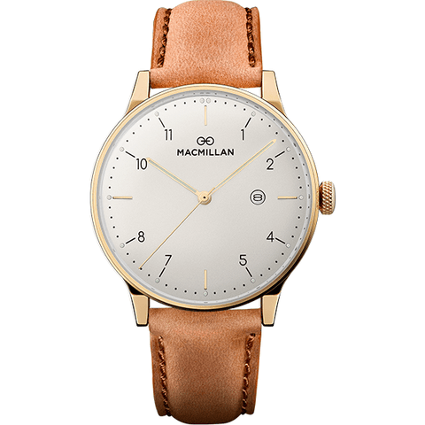 Macmillan Watches - Keir Mill gold - Macmillan Watches - Christmas Gifts - Cadeaux Noel - The best Swiss online department store!