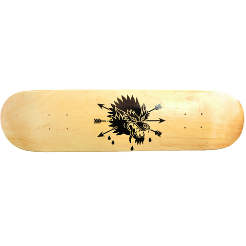 Skateboard Handprinted - Bimbo clothing - Christmas Gifts - Cadeaux Noel - The best Swiss online department store!